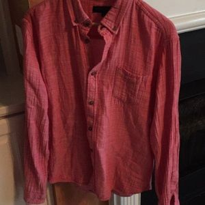 Pink Aeropostale button down